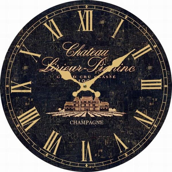Nástěnné hodiny Antic Line Dark Chaeteau