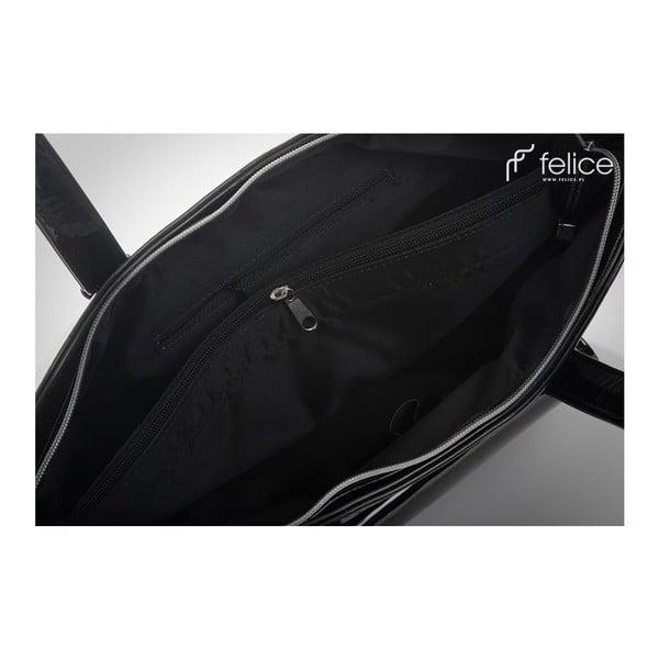 Kabelka Felice Grande Black Glossy