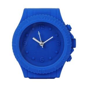 Tmavě modré hodiny s budíkem Just 4 Kids Blue Watch Style