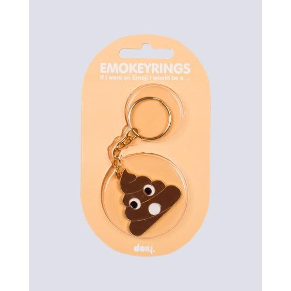 Přívěsek na klíče DOIY Emokeyrings Poo