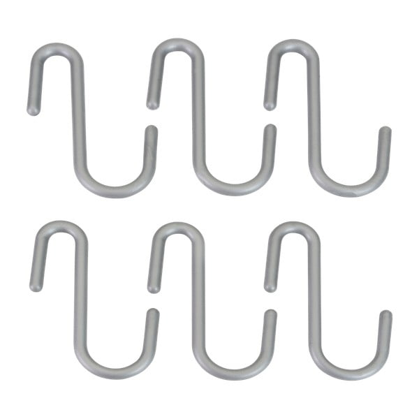 Sada 6 závěsných háčků Metaltex Hookinos
