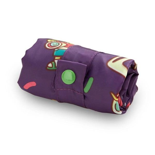 Skládací nákupní taška s kapsičkou LOQI Barcelona