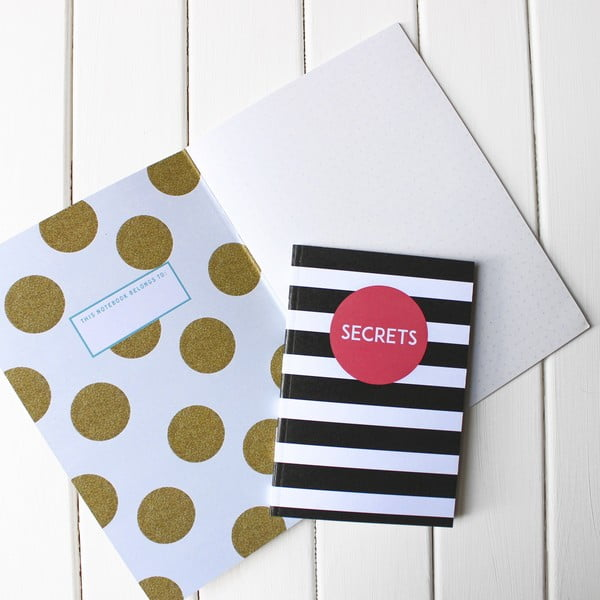 Zápisník Secrets A6
