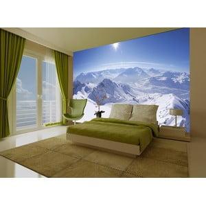 Tapeta Moutain Houses, 315x232 cm
