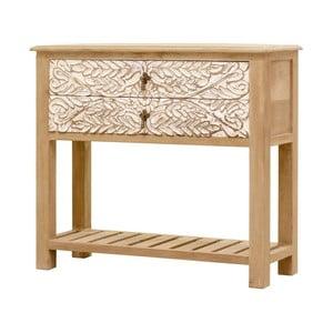 Konzolový stolek z masivního mangového dřeva Massive Home Sweet