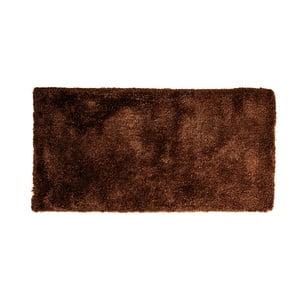 Tmavě hnědý koberec Cotex Donare, 70 x 140 cm