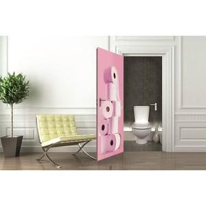 Tapeta na dveře Toilet Paper, 95x210 cm