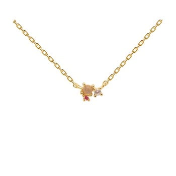 Colier placat cu aur PD PAOLA Rosé Blush imagine