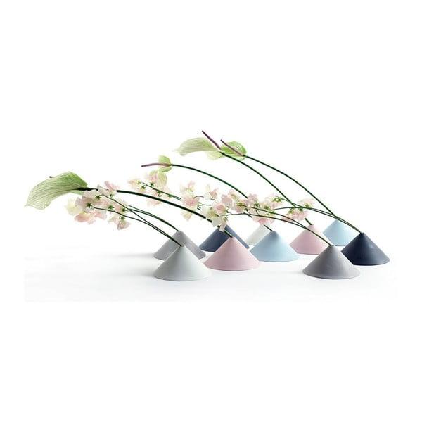 Váza Cone Pink, 15 cm