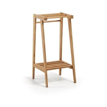 Cuier din lemn de tec, pentru prosoape La Forma Sunday imagine