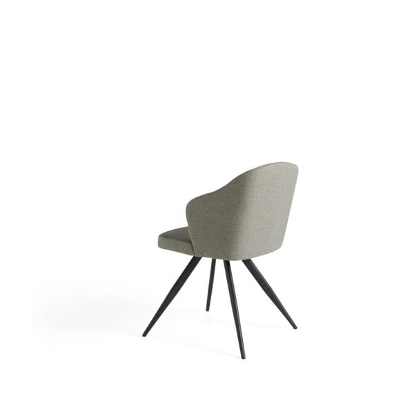 Šedá židle Ángel Cerdá Teresia