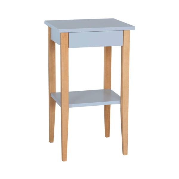 Světle šedý odkládací stolek Ragaba Entlik