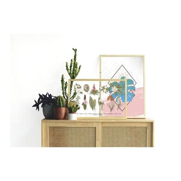 Tablou Surdic Botanical Flowers, 50 x 70 cm