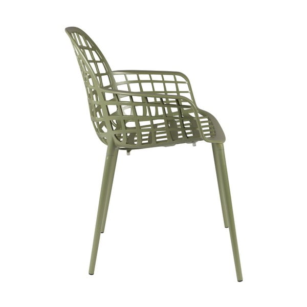 Set 2 scaune Zuiver Albert Kuip Garden, verde