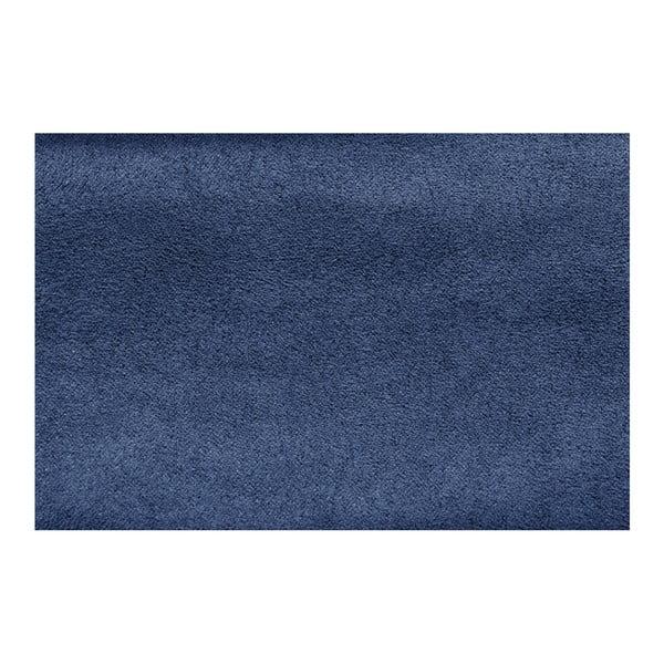 Modrá pohovka Modernist Astrakan, pravý roh