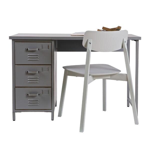 Pracovní stůl Max, šedý
