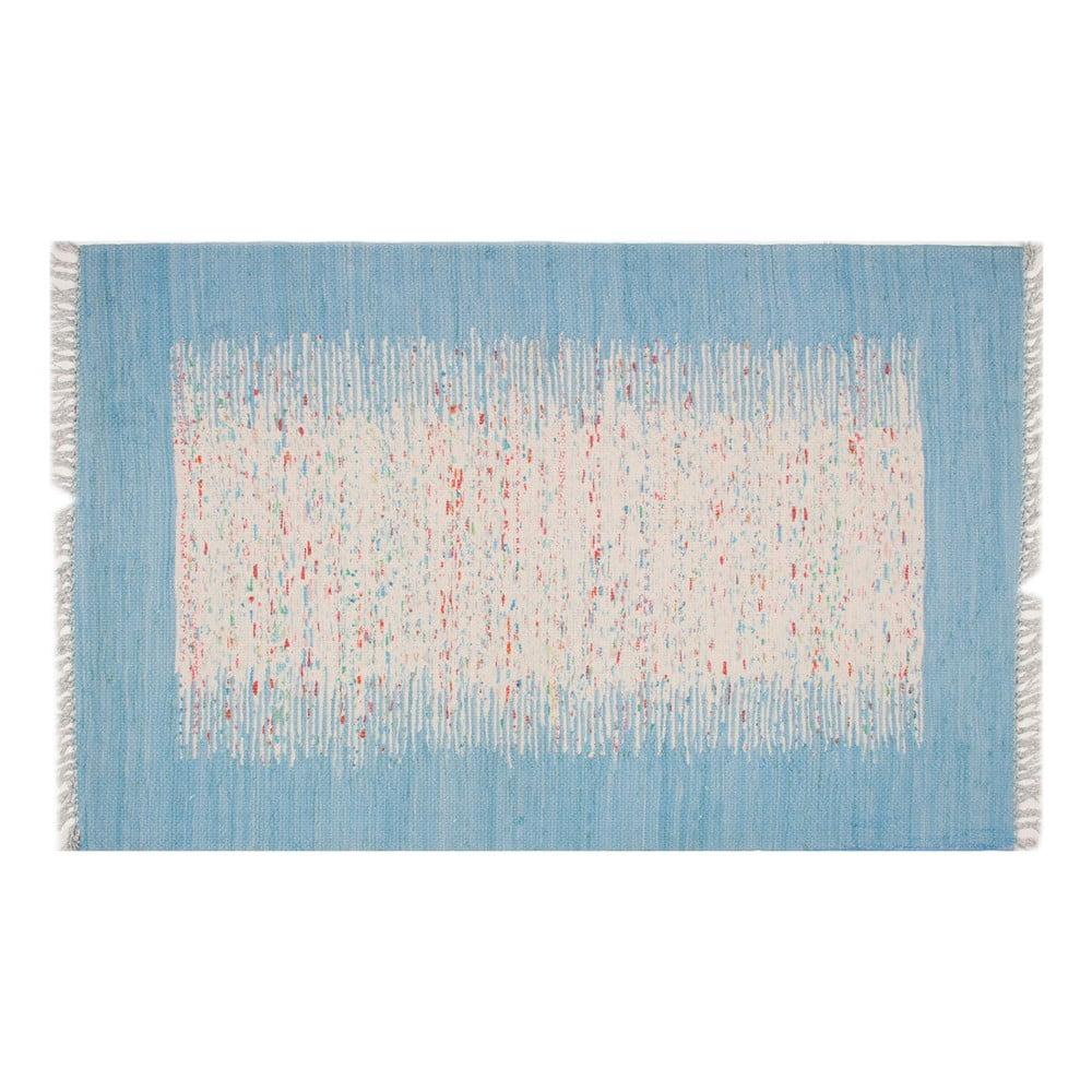 Běhoun Contour Blue, 80 x 300 cm