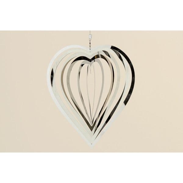 Dekorativní závěsné srdce 3D Heart