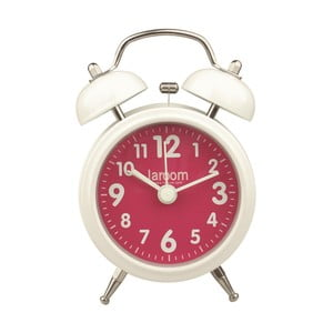 Retro budík Alarm Fuchsia