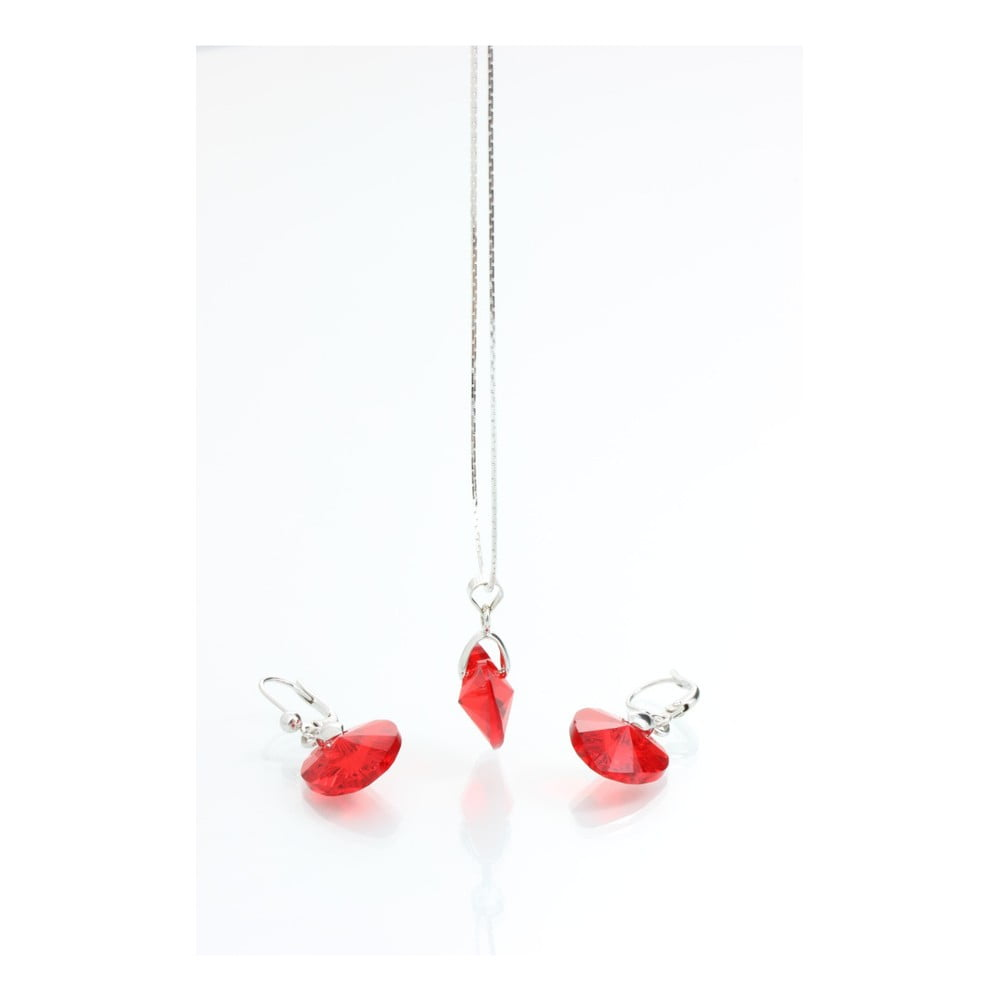 Set náhrdelníku a náušnic se Swarovski Elements Laura Bruni Figlia