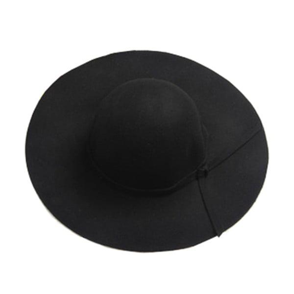 Pălărie din lână Ambiance Wool, maro închis