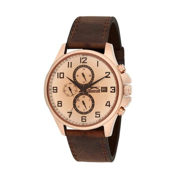 Pánské hodinky Slazenger Golden-Brown