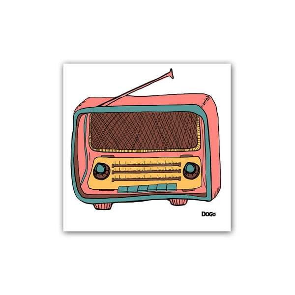 Polštář Radio