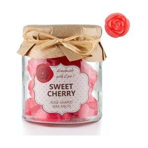 Sada 18 malých vonných svíček Sweet Cherry