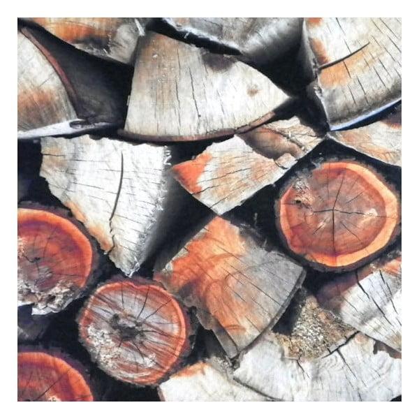 Předložka Fireplace Wood 75x50 cm
