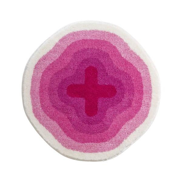 Koupelnová předložka Kolor My World III 60 cm, růžová