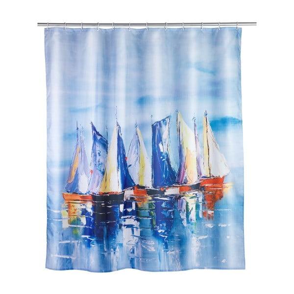 Sailing zuhanyfüggöny, 180 x 200 cm - Wenko