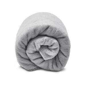 Šedá bavlněná deka Mumla,100x150cm