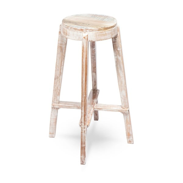 Drevená ručne maľovaná stolička RGE Barry, výška 77 cm