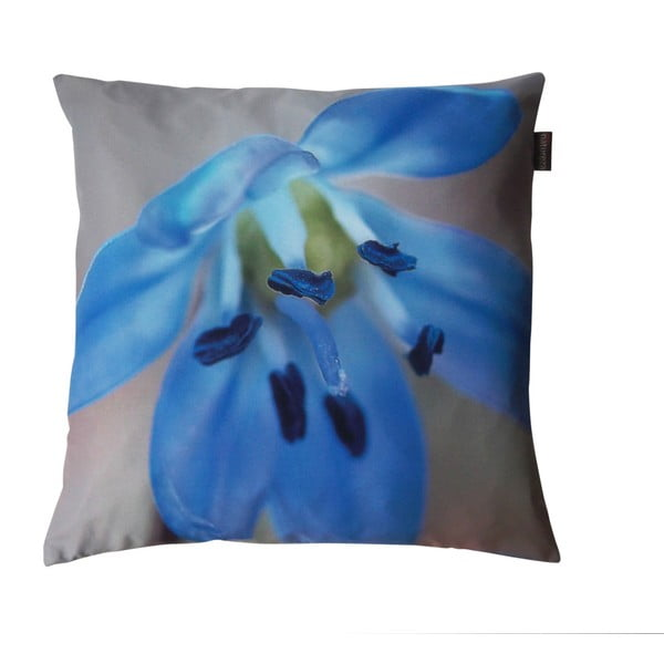 Polštář s výplní Modrá lehkost, 50x50 cm