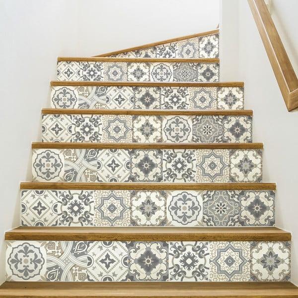 Set 2 autocolante pentru scări Ambiance Carenza, 15 x 105 cm