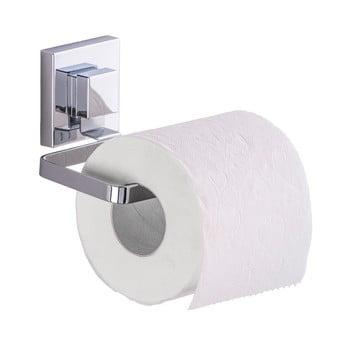 Suport pentru hârtie igienică Wenko Quadrio cu sistem de prindere Vacuum-Loc, până la 33 kg imagine