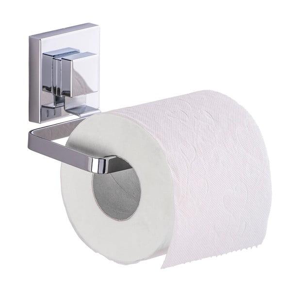 Samodržiaci držiak na toaletný papier Wenko Vacuum-Loc Quadrio, nosnosť až 33kg