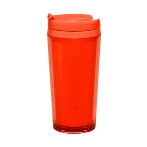 Lahev na teplé nápoje Zak 400 ml, korálová