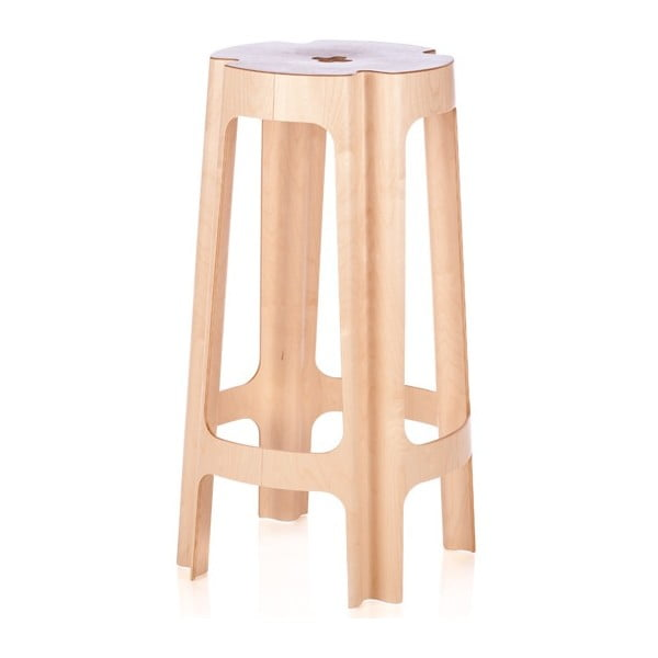 Barová židle Bloom 82 cm, bříza