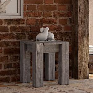 Odkládací stolek/židle Seart z masivní borovice, 40x46 cm