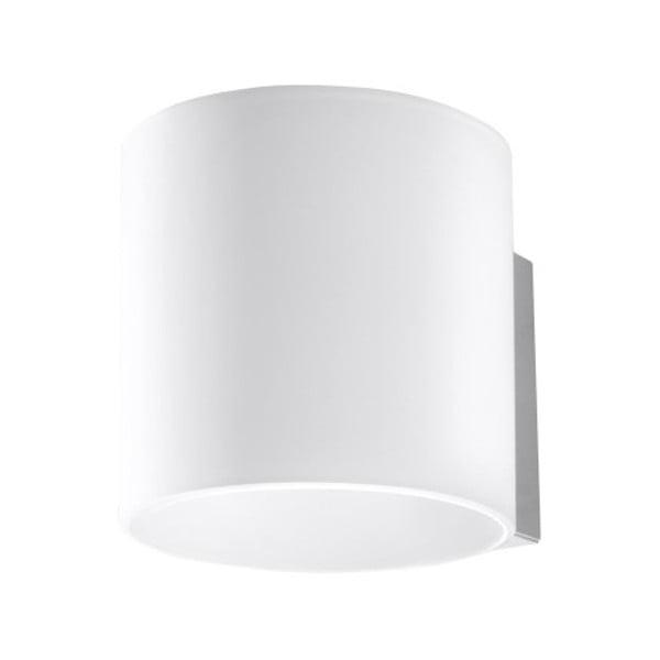 Bílé nástěnné svítidlo Nice Lamps Gino