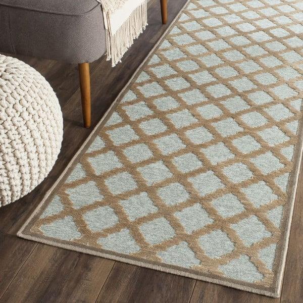 Hnědý koberec Safavieh Anguilla, 160x228cm