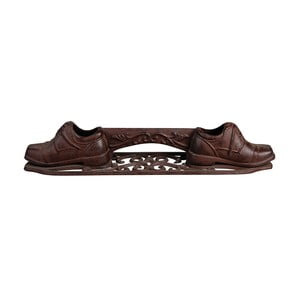 Preș din fontă pentru pantofi Esschert Design Crunchy, lățime 44,3 cm
