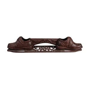 Litinová rohož na boty Esschert Design Crunchy, šířka44,3cm