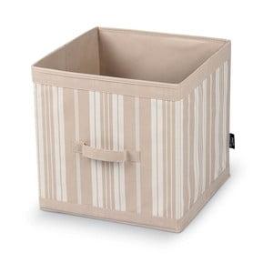 Velký úložný box Domopak Stripes