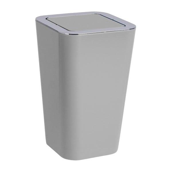 Šedý odpadkový koš Wenko Candy