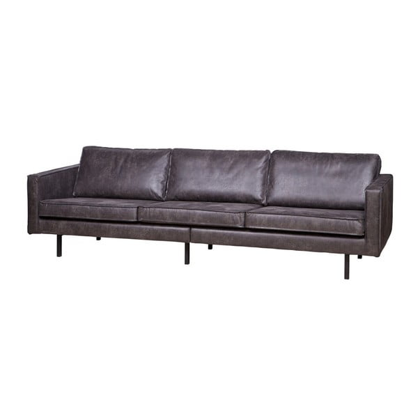 Canapea 3 persoane BePureHome Rodeo, negru