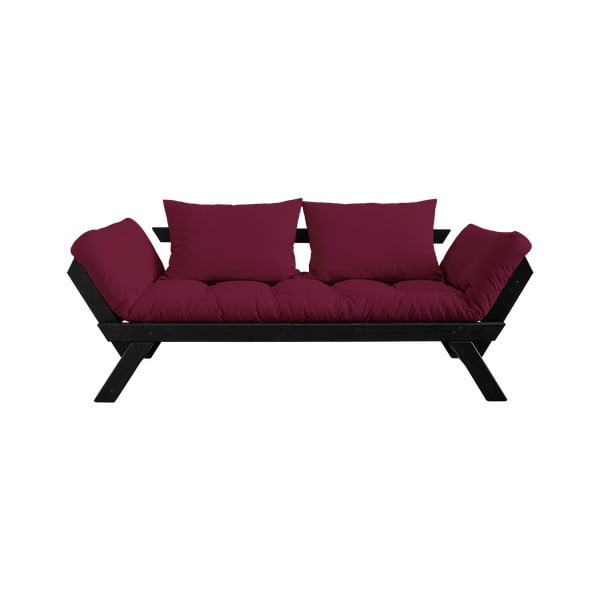 Canapea Karup Design Bebop Black/Bordeaux