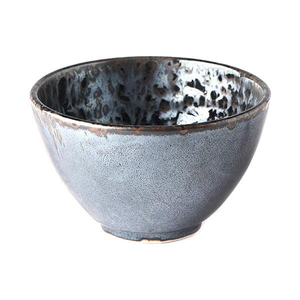 Czarno-szara miska ceramiczna MIJ Pearl, ø 13 cm