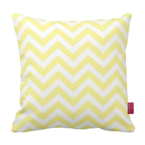 Pernă  Homemania Zig Zag Yellow, 43 x 43 cm